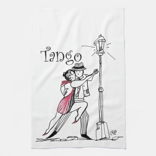 Tangueritos Couple Hand Towel