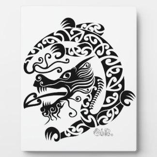 Taniwha Dragon Plaque