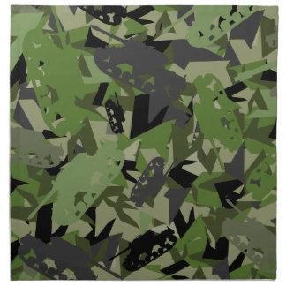 Tank Army Camouflage Napkin