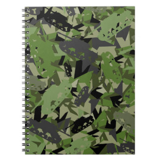 Tank Army Camouflage Notebook