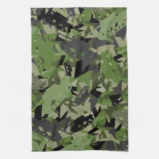 Tank Army Camouflage Towel
