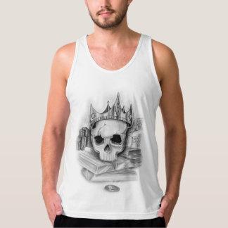 Tank de Homem with skull