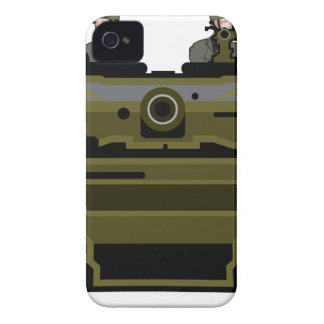 Tank Front iPhone 4 Covers