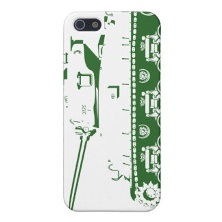 Tank iPhone Case (green) Cover For iPhone 5