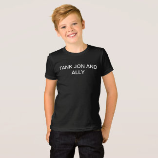 Tank, Jon, and Ally Boy's Youth Medium T-Shirt