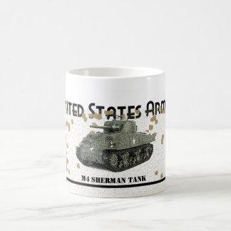 Tank - M4 SHERMAN TANK Coffee Mug