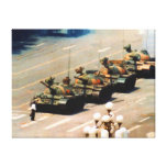 Tank Man Wrapped Canvas Gallery Wrapped Canvas