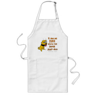 """Tank """"ON FIRE WEETH SUPER SEXY-NESS"""" Apron"""