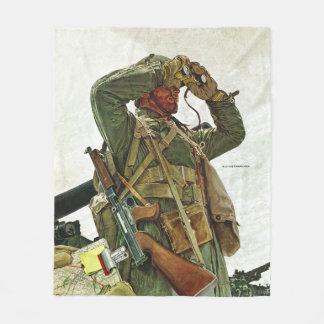 Tank Patrol Fleece Blanket