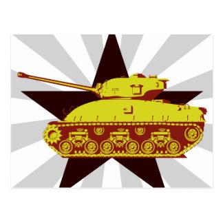 Tank Postcard (starburst)