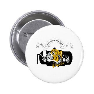 Tank Tiger 6 Cm Round Badge