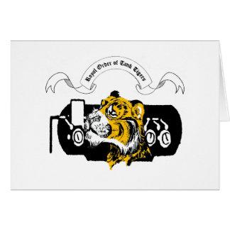 Tank Tiger Greeting Card