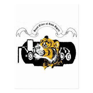 Tank Tiger Postcard
