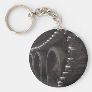 Tank Time Basic Round Button Key Ring