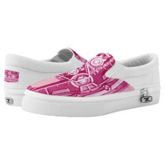 Tank Tracks Steam Shovel Tracks  Power Boost Pink Slip On Shoes