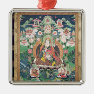 Tanka of Padmasambhava, c.749 AD Ornaments