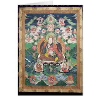 Tanka of Padmasambhava, c.749 AD Greeting Card