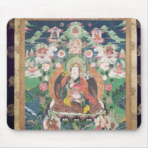 Tanka of Padmasambhava, c.749 AD Mousepads