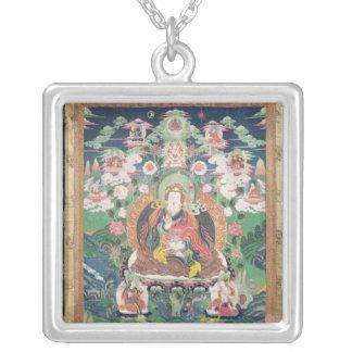 Tanka of Padmasambhava, c.749 AD Personalized Necklace