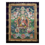 Tanka of Padmasambhava, c.749 AD Poster
