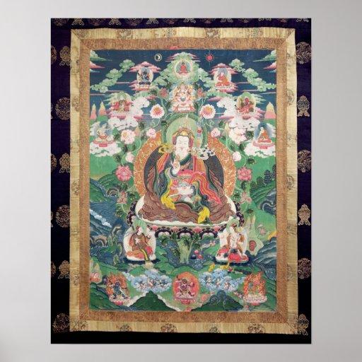 Tanka of Padmasambhava, c.749 AD Print