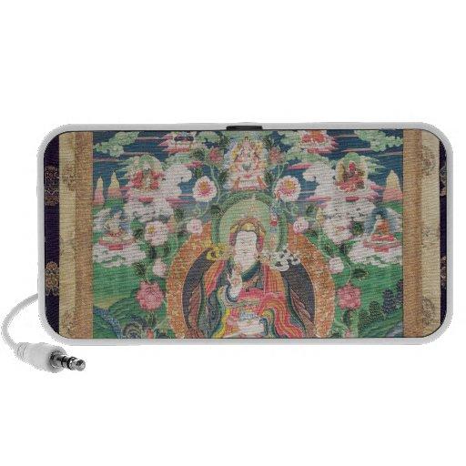 Tanka of Padmasambhava, c.749 AD Notebook Speaker