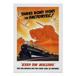 Tanks Don't Fight In Factories -- WW2 Railroad