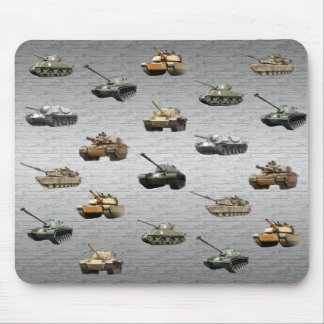 Tanks of the U.S. Military Mouse Mat