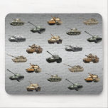 Tanks of the U.S. Military Mouse Pad
