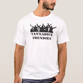 Tannadice Trendies retro casual themed  t-shirt