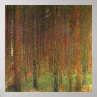 Tannenwald II by Gustav Klimt Print