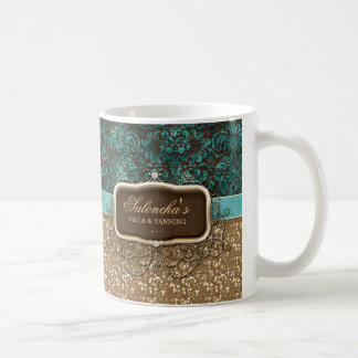 Tanning Fashion Real Estate Chandelier Glitter Coffee Mug