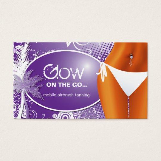 Tanning Salon Business Card