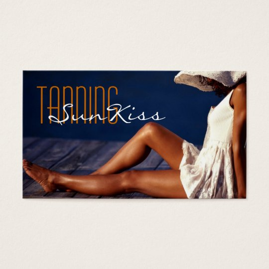 Tanning Salon, Spa Business Card