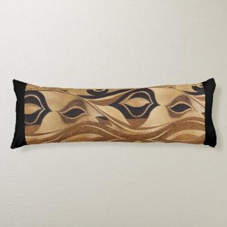 Tans & Black Body Cushion