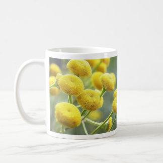 Tansy Flowers Coffee Mugs