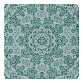 Tantalizing in teal trivet