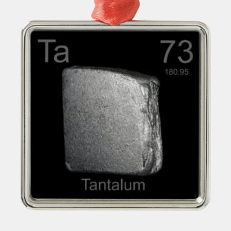 Tantalum Christmas Ornament