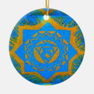 tantric star and buddha christmas ornament