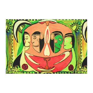 TANTRIK Urja Sensual Art : Indian Cave Style Canvas Prints