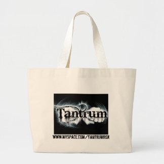 tantrum_logocopy, www.myspace.com/tantrumrox tote bags