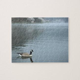 Tanuki-ko, Lake Tanuki Jigsaw Puzzle