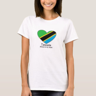 Tanzania always in my heart woman T-Shirt