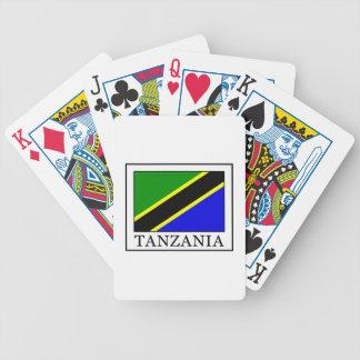 Tanzania Bicycle Playing Cards