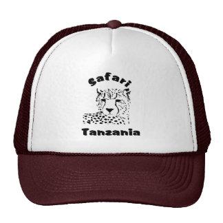 Tanzania Cheetah Safari Cap