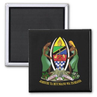 Tanzania COA Fridge Magnet