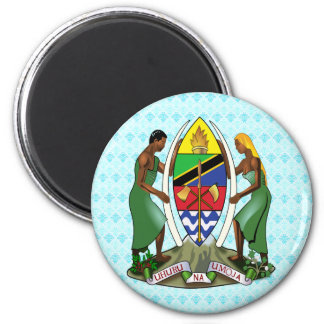 Tanzania Coat of Arms detail Refrigerator Magnets