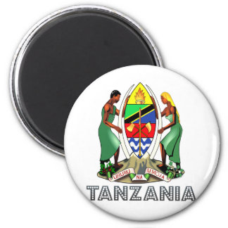 Tanzania Coat of Arms Magnets