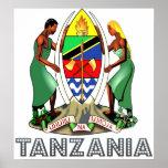 Tanzania Coat of Arms Print