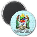 Tanzania Coat of Arms Refrigerator Magnet